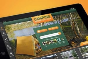 Camping-app-development
