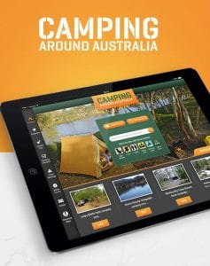 Camping Around Australia app by DreamWalk