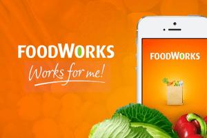 Foodworks web app development image