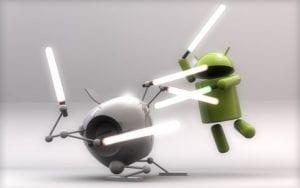 iOS versus Android image