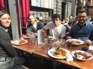 DreamWalk Team Lunch