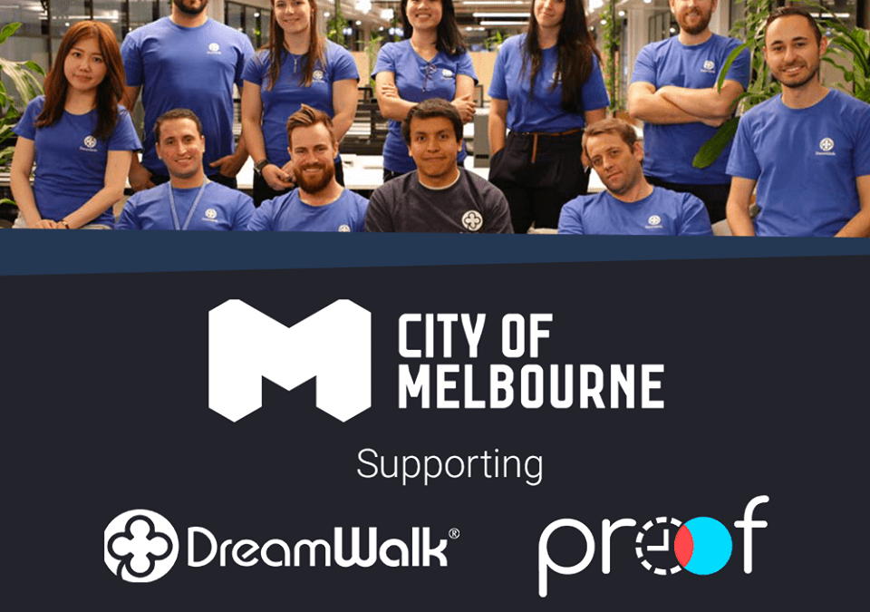 DreamWalk Apps awarded business grant for Proof initiative