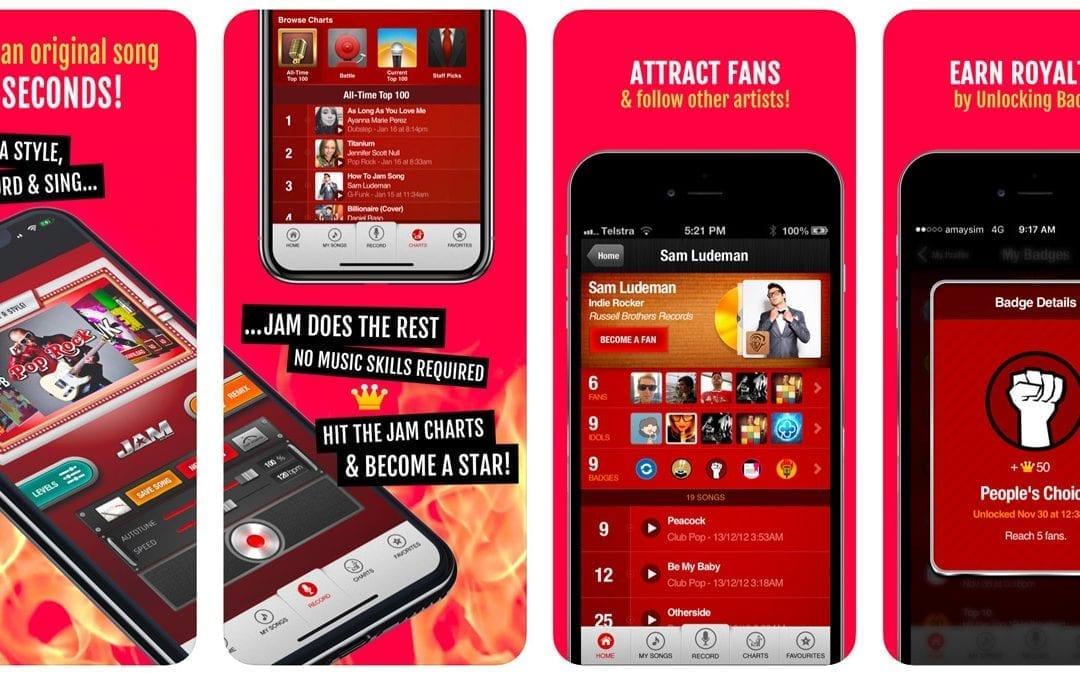 Jam App Update 2020