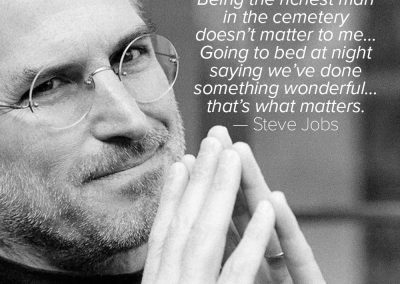 Steve-Jobs-richest-man-in-cemetary-quote