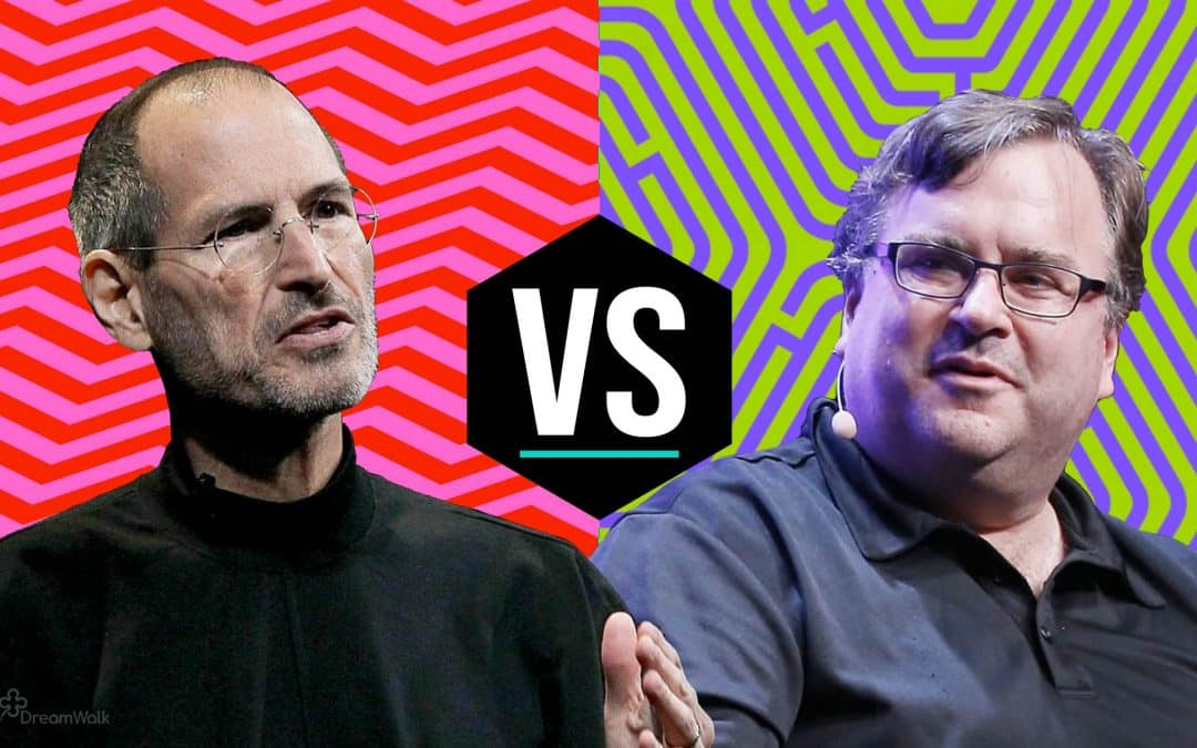 Steve Jobs VS Reid Hoffman: Which Philosophy is the right one?