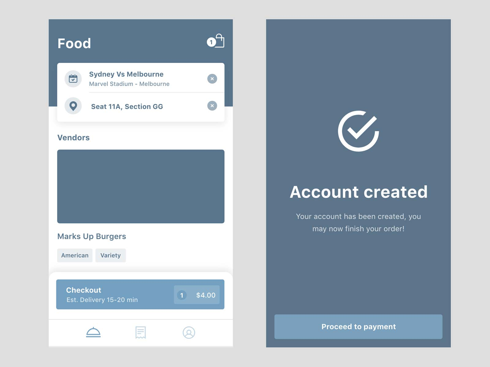 Snackr-UX-wireframe-design
