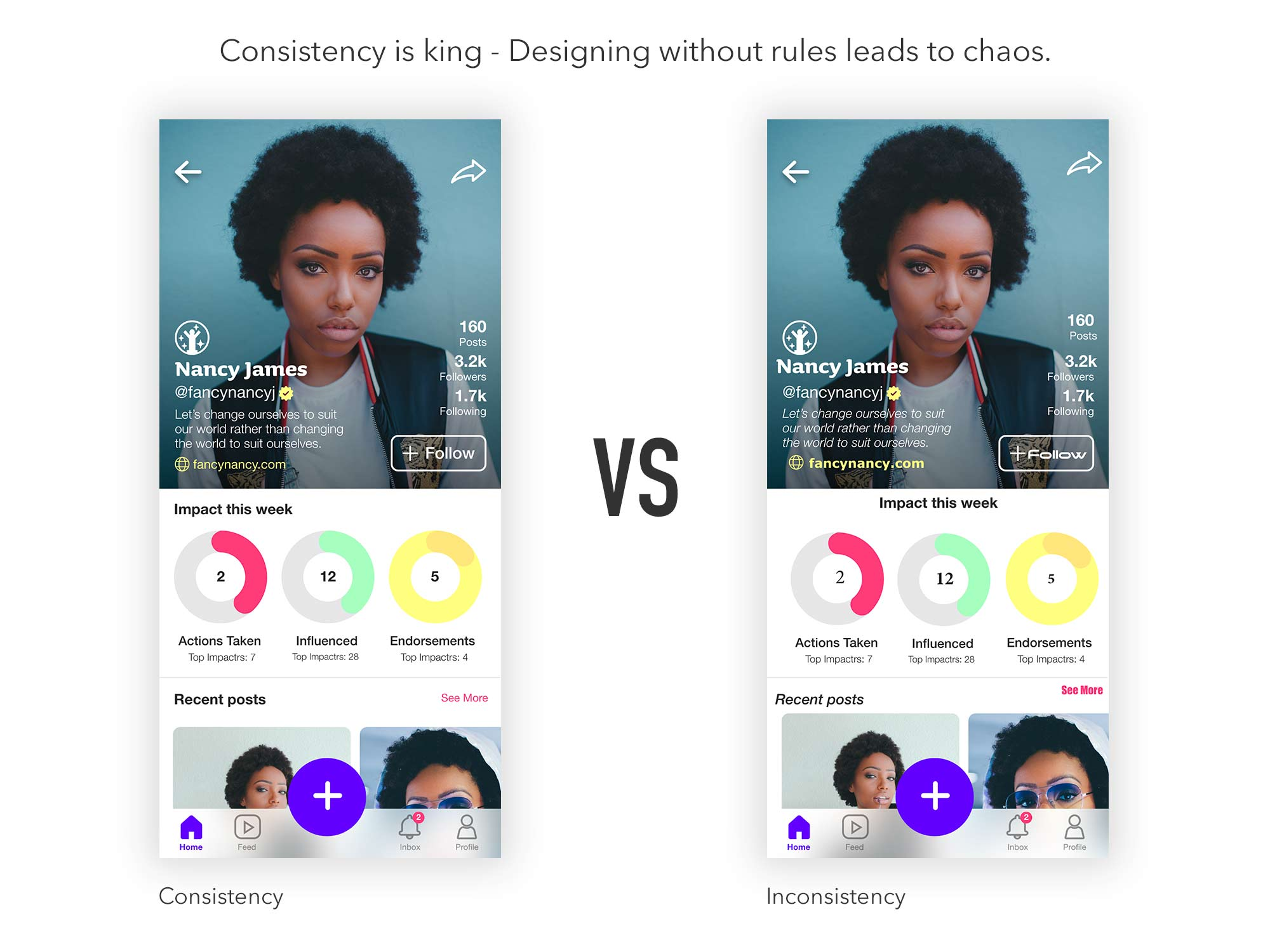 Consistency-is-king for UI Designers