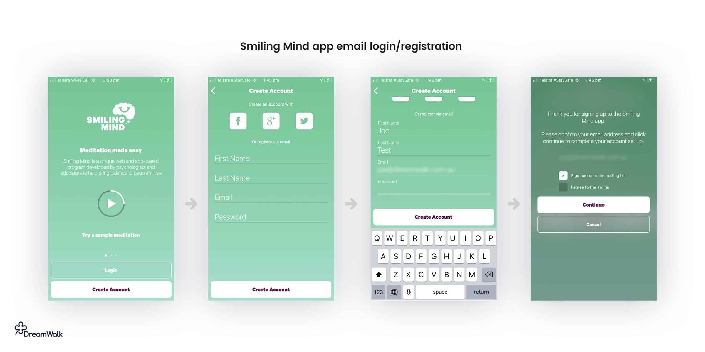 Smiling-Mind-app-email-login-registration-ux-ui-design