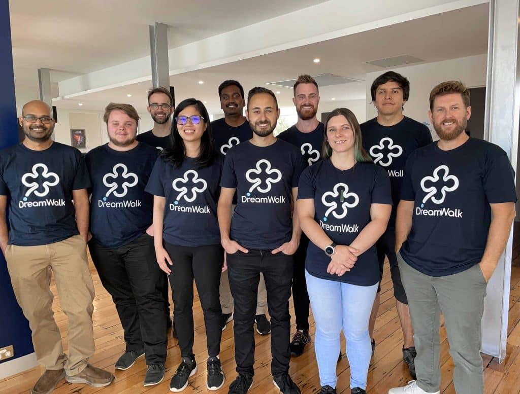 DreamWalk App Development Team 2020