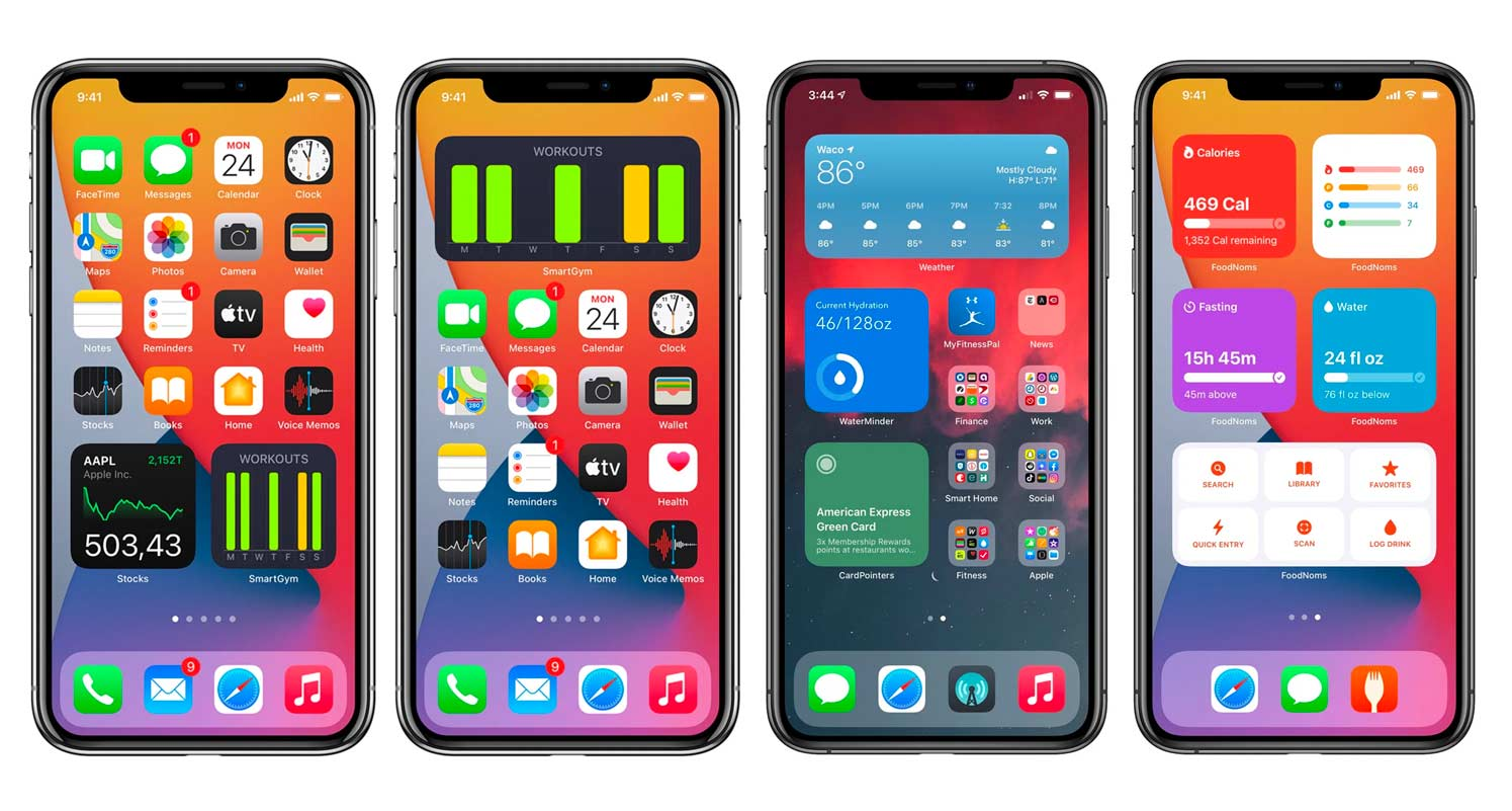 iOS developers iOS14 widgets
