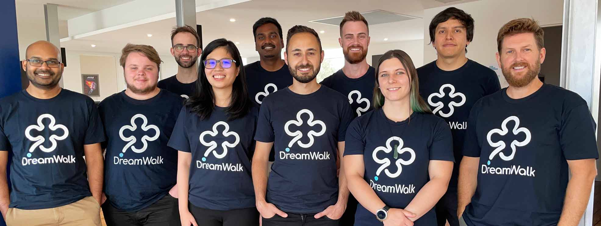 DreamWalk App Development team 2020